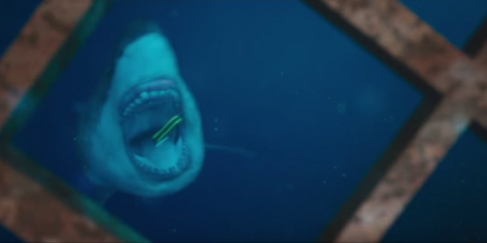 47 METERS DOWN Trailer, High In Shark Infested Horror