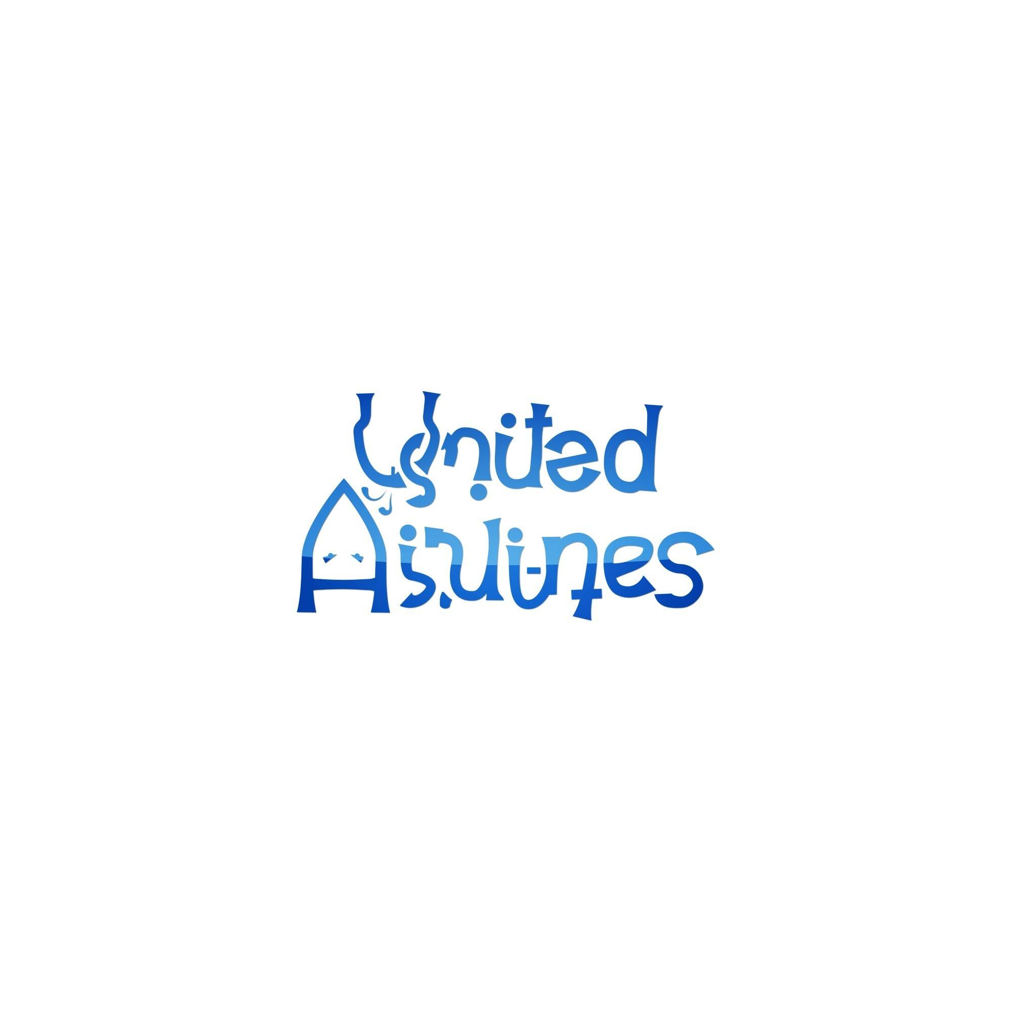 united airlines new logo look at it upside down funny pinterest