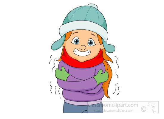 Freezing Cold Cartoon Woman | Use these free images for ...