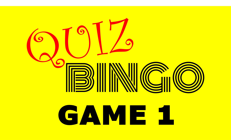 Quiz Bingo Trivia Game Powerpoint Game Family Games