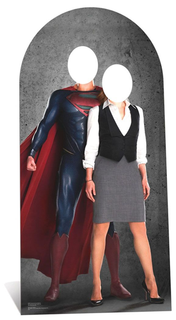 Superman And Lois Lane Stand In Cardboard Cutout Standee Standup Superman And Lois Lane Superman Lois Lane