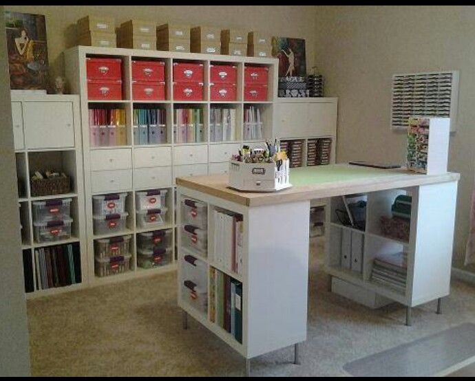Awesome Craft Storage · Ikea Craft RoomCraft Table ...