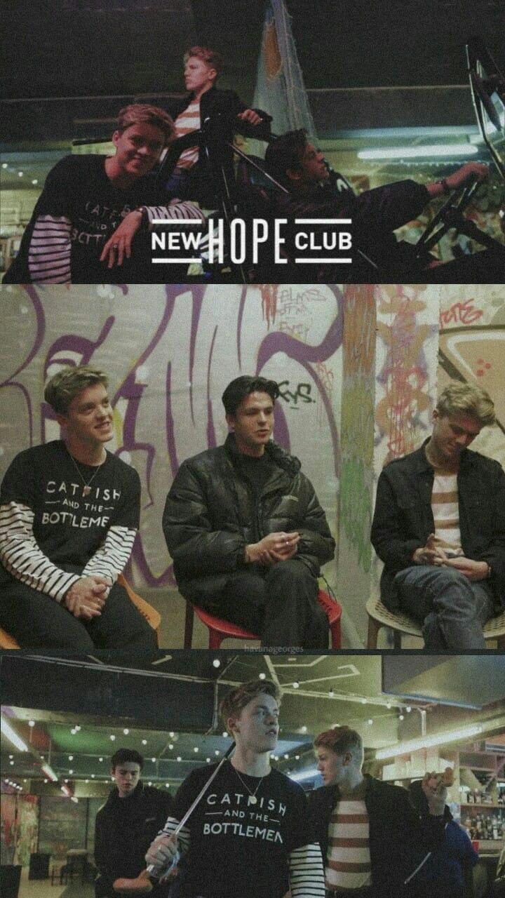 Insta Havanageorges Tw Newhopediana New Hope Club Lock Screen Wallpaper New Hope Club George Smith Reece Bibby Blake Richardson Newhopeclub R