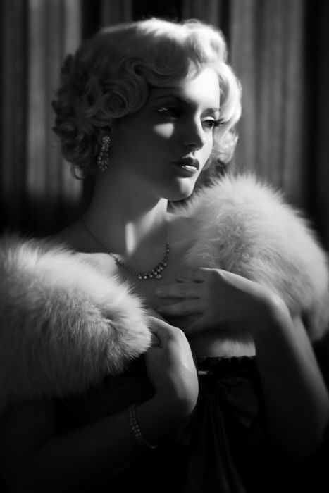 I Love Black And White Style Glam Photoshoot Old Hollywood Style Glamour Photography