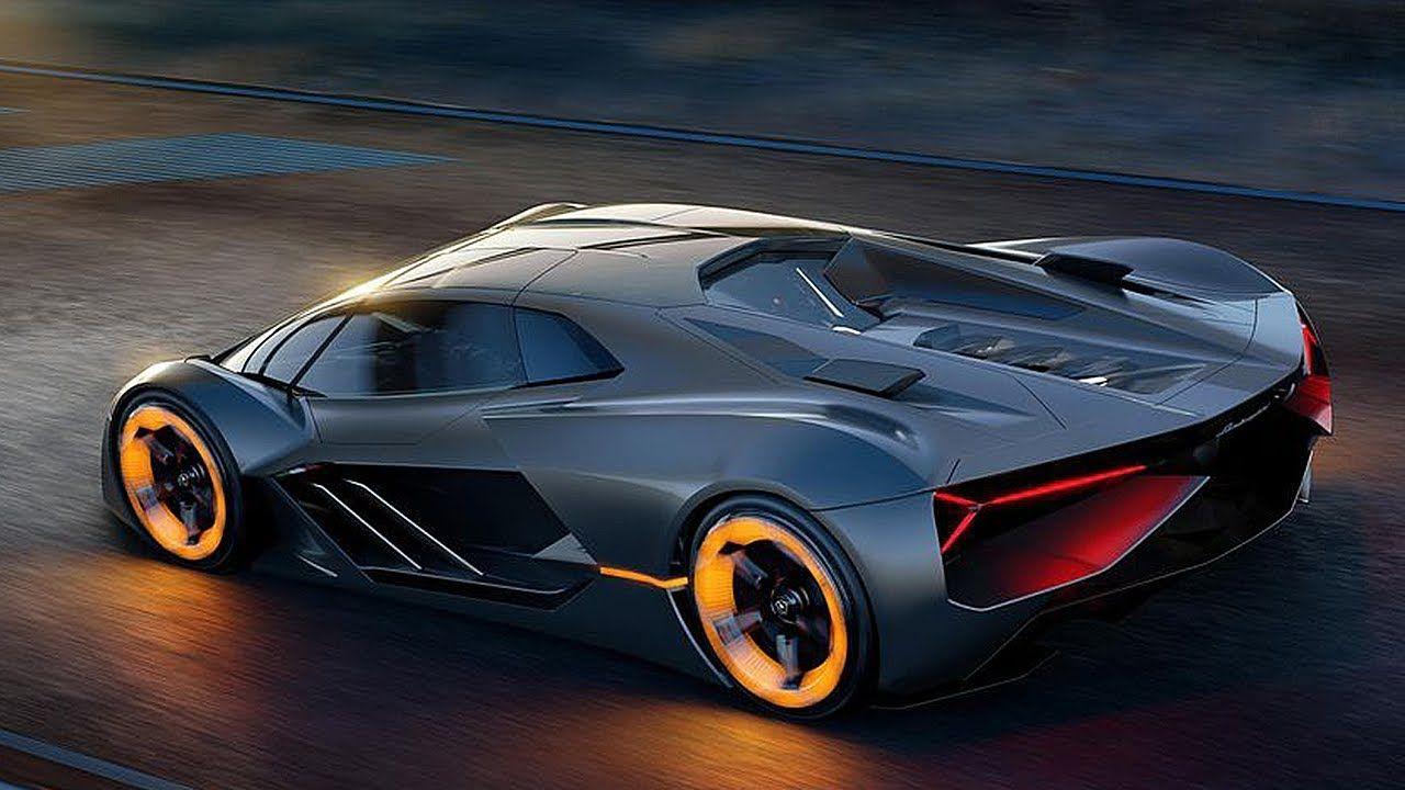 2019 Lamborghini Terzo Millennio Amazing Electric Supercar