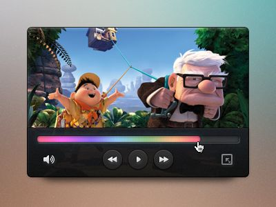 Mini video player interfaces pinterest user interface design videos and also rh in