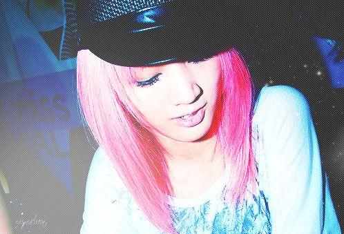 Miss A Jia Medium Straight Pink Layers