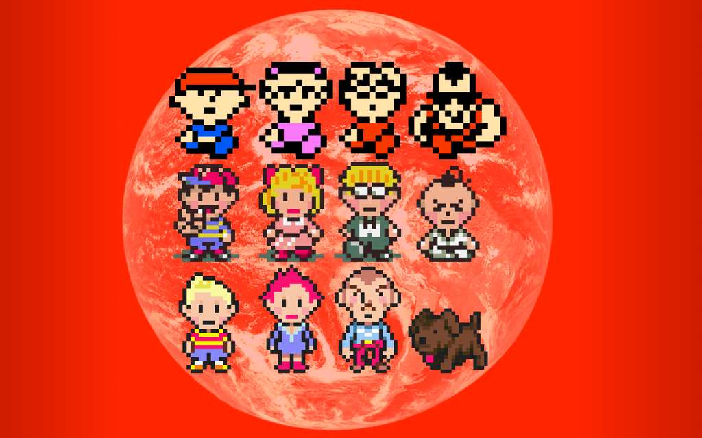 Earthbound Mother Wallpaper By Flutterchu On Deviantart Mother Games Mother Wallpaper