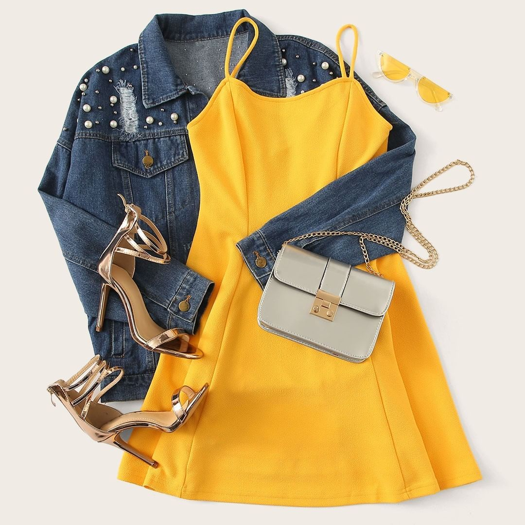 """S4FBBd ROMWE ROMWEfashion fashion spring"""" is part of Fashion outfits - S4FBBd…"""""""