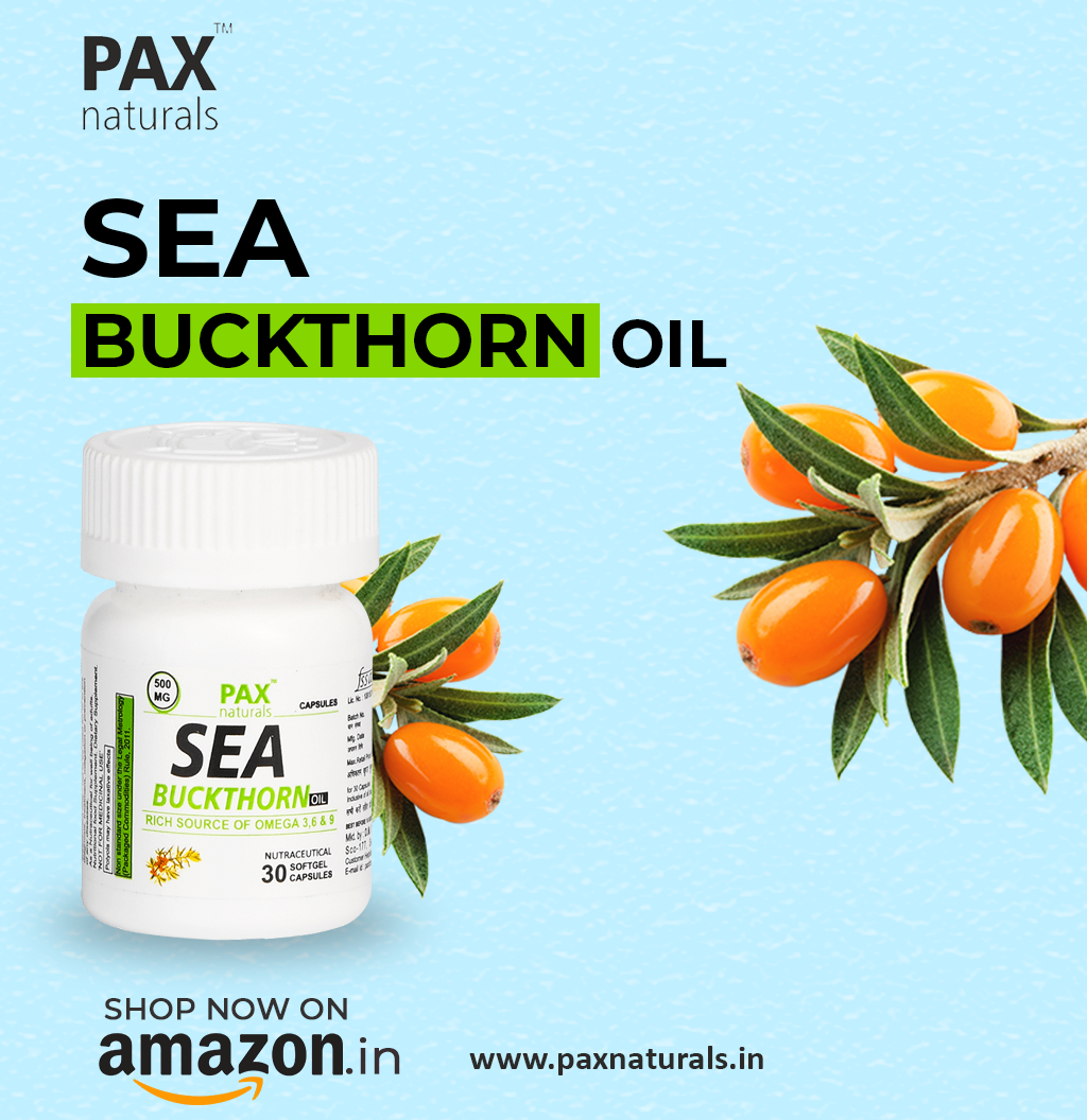 Pax Naturals Sea Buckthorn oil helps to Improve digestion problems... Shop now on Amazon.in at a combo pack of 3.  #paxnaturals #seabuckthornoil #capsules #softgelcapsules #health #healthy #healthcare #healthyheart #healthydigestion #healthylifestyle #healthforall #healthychoices #onlineproduct #onlineshopping #shoponline #shoponamazon