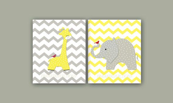 Kids+Wall+Art+Print++Baby+Room+Decor+Chevron+by+Fineartreflections ...