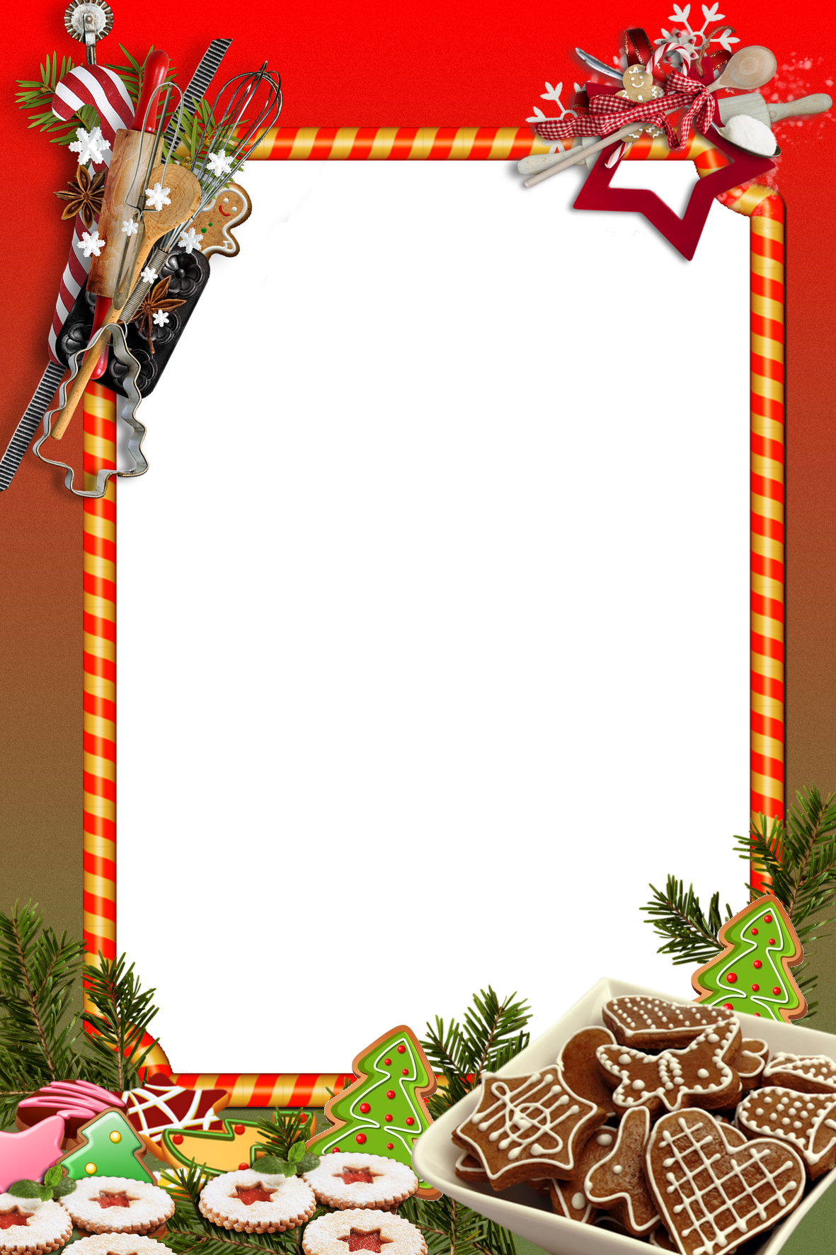 Christmas Frame Png Sign Art Christmas Frames Poster Template