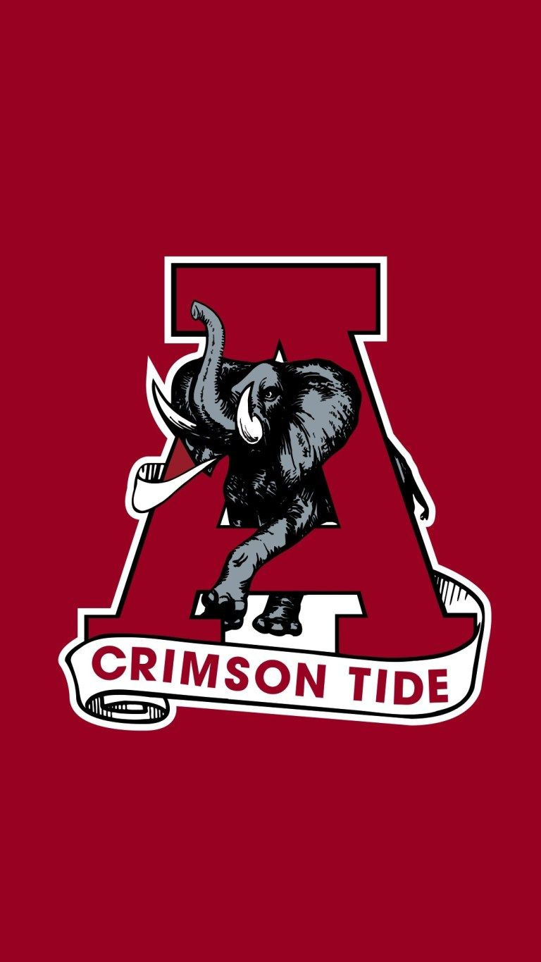 Free Alabama Wallpapers For Mobile Phones Alabama Wallpaper Alabama Crimson Tide Logo Iphone Wallpaper Sports