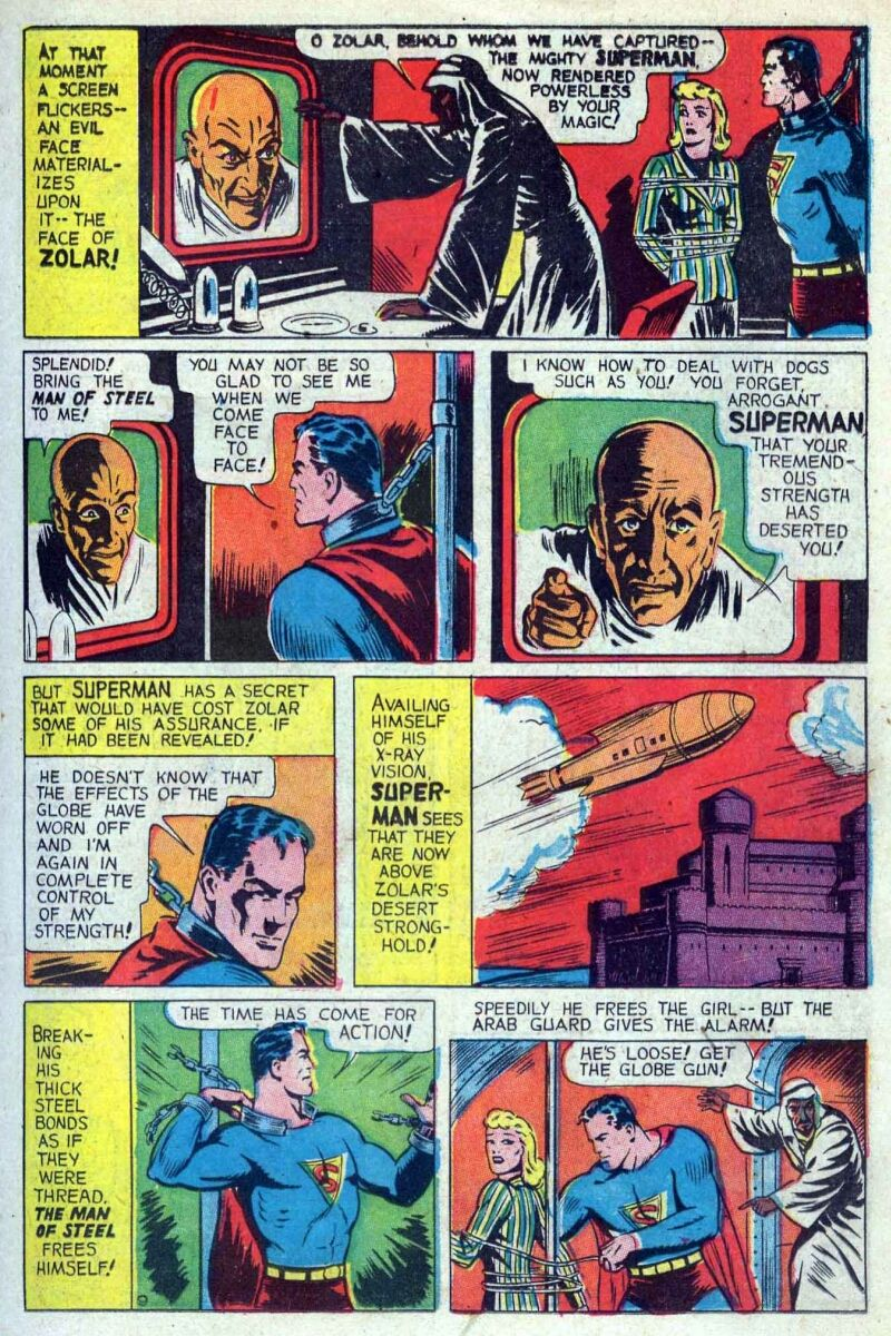 Superman-Jerry Siegel and Jack Burnley-1940