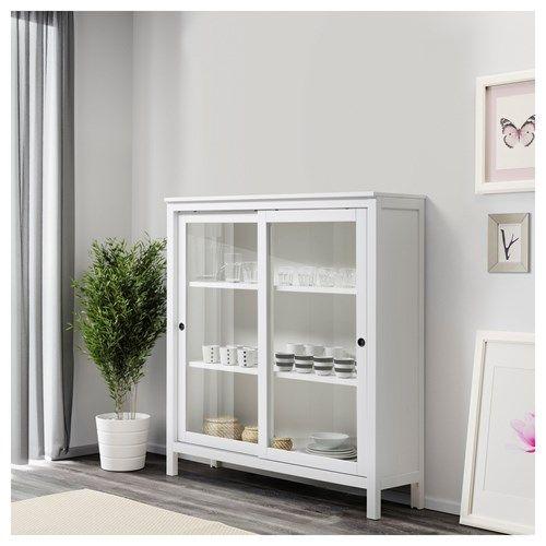 hemnes vitrin deco pinterest. Black Bedroom Furniture Sets. Home Design Ideas
