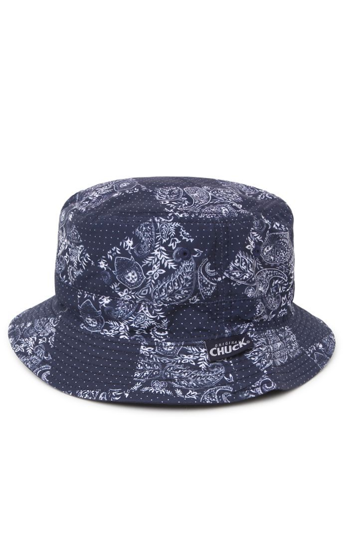 5b222f89f3a PacSun presents the Chuck Bandana Bucket Hat for men. This reversible men s bucket  hat comes