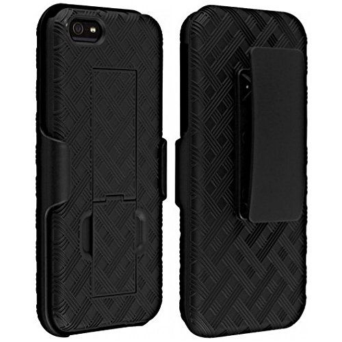 Verizon Shell Holster Combo Case for Apple iPhone 5/5S/SE with Kick-Stand & Belt Clip - http://our-shopping-store.com