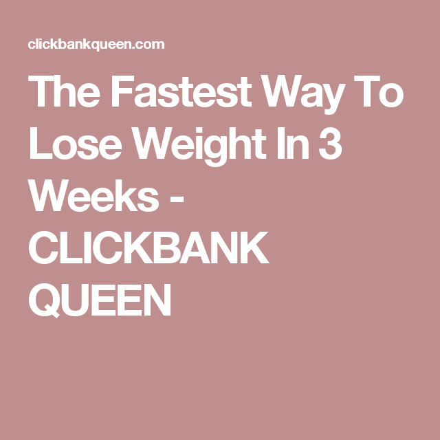 The fastest way to lose weight in 3 weeks lost weight weight loss the fastest way to lose weight in 3 weeks ccuart Image collections