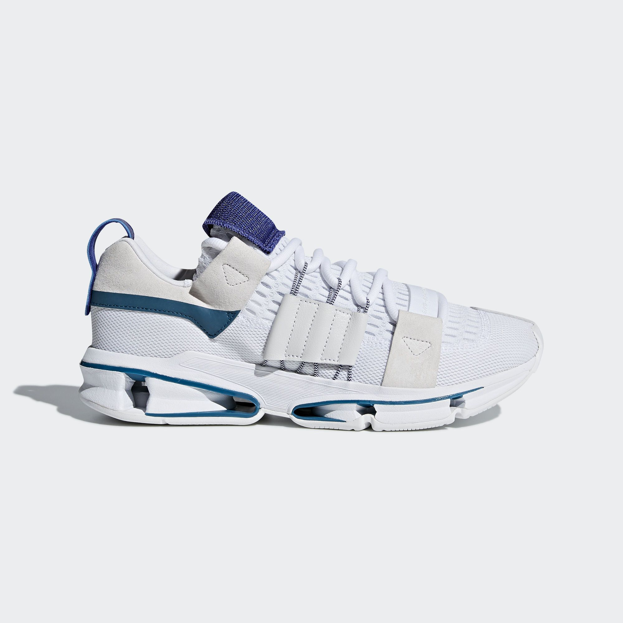 Adidas Originals Men 's Twinstrike ADV Shoes Sneakers White / Blue  - CM8096