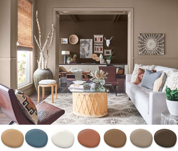 Sherwin Williams On What Color Palettes Will Take Us Into 2019 Beyond Living Room Colors Interior House Colors Living Room Paint