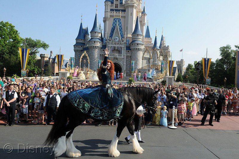 Merida's Royal Celebration - Celebração da nova Princesa da Disney #Disney #Princesa