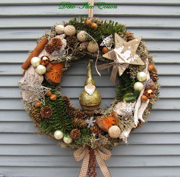 t rkranz weihnachten wichtel wichtelwald von deko idee eolion auf wreath. Black Bedroom Furniture Sets. Home Design Ideas