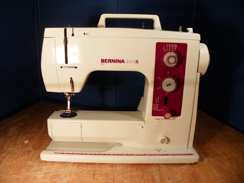 Bernina 801 Sport Manuals and User Guides, Sewing Machine ...