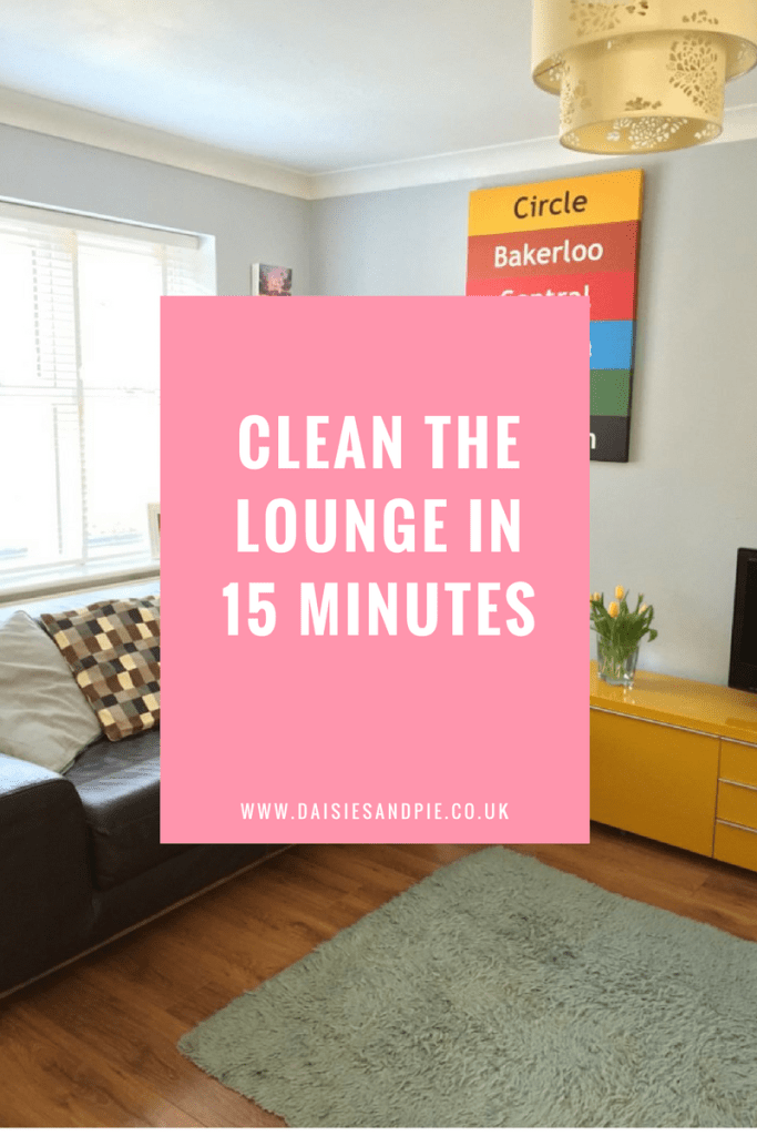How to clean the lounge in 15 minutes, homemaking tips, cleaning ...