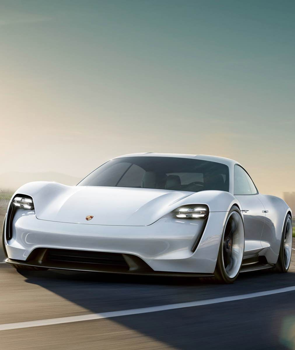 Porsche Electric Sports Car: The Porsche Mission E: An Electric «bombshell