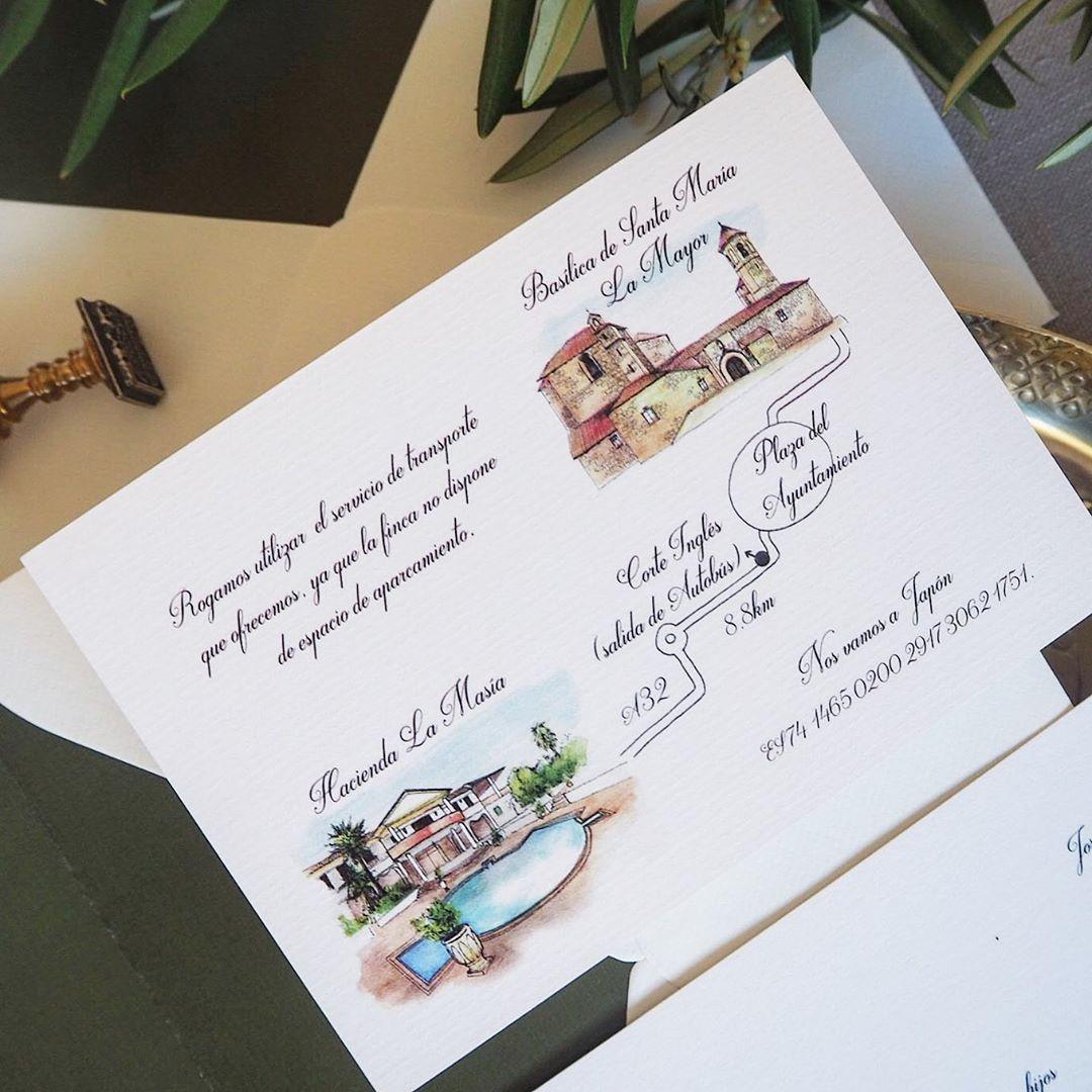Estudio Requetebién On Instagram Siempre Hay Un Dilema Con Incluir La Tarjeta De Mapa Dentro De En 2020 Invitaciones De Boda únicas Invitaciones De Boda Invitaciones