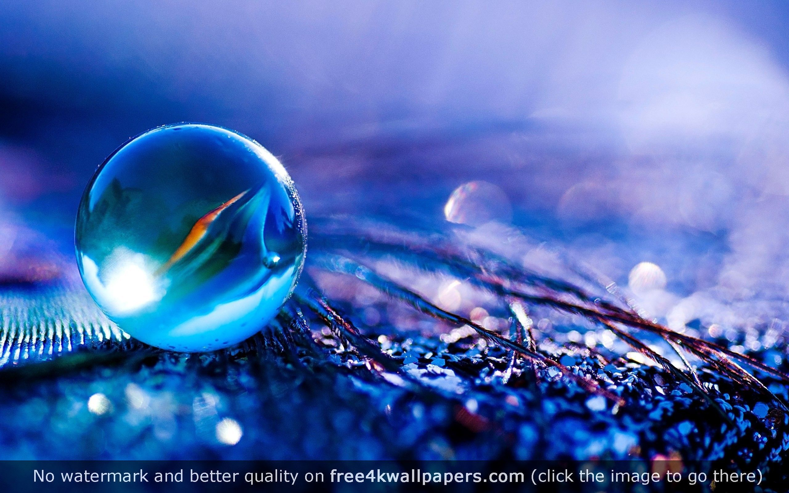 Blueish Water Bubble Hd Wallpaper Free Animated Wallpaper 3d Animation Wallpaper 3d Desktop Wallpaper