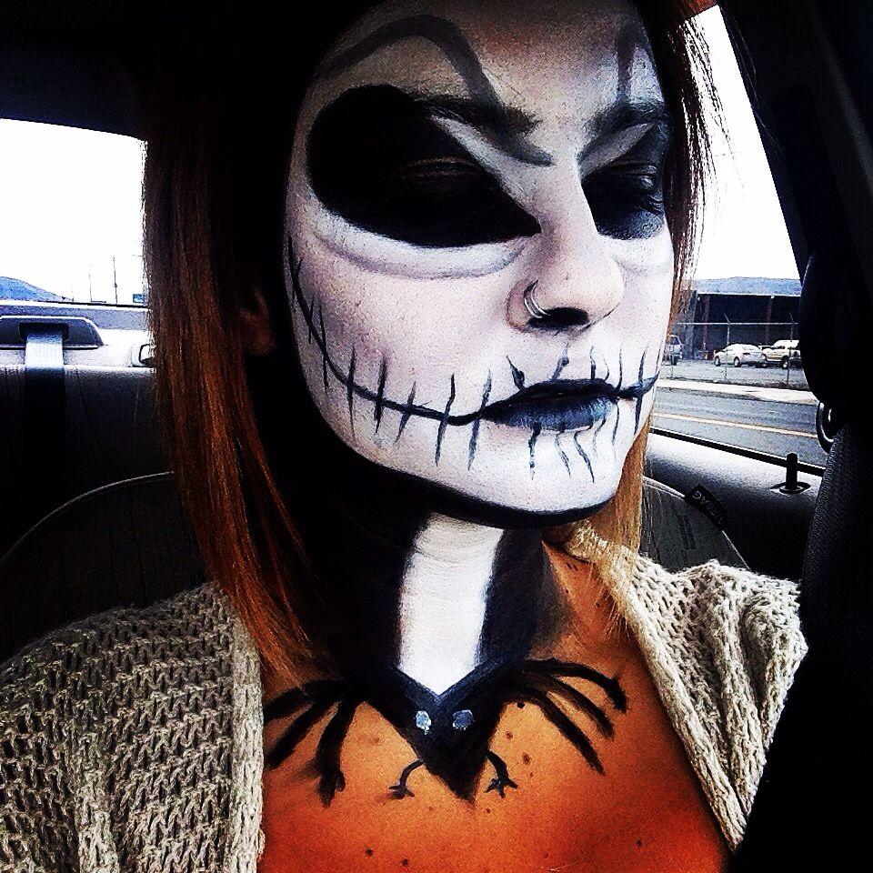 Jack skellington makeup Makeup, Halloween face makeup