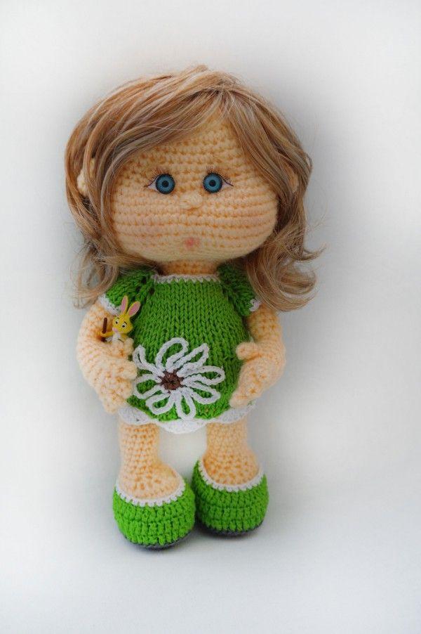 Puppe Häkeln Babypuppe Häkeln Anleitung Amigurumi Pinterest