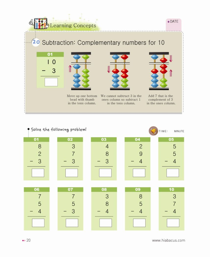 Improve Your Calculation Ability Brain Development Mental Arithmetic And Number Sense Become An Abacus Master Abacus Math Learning Math Math [ 1045 x 856 Pixel ]