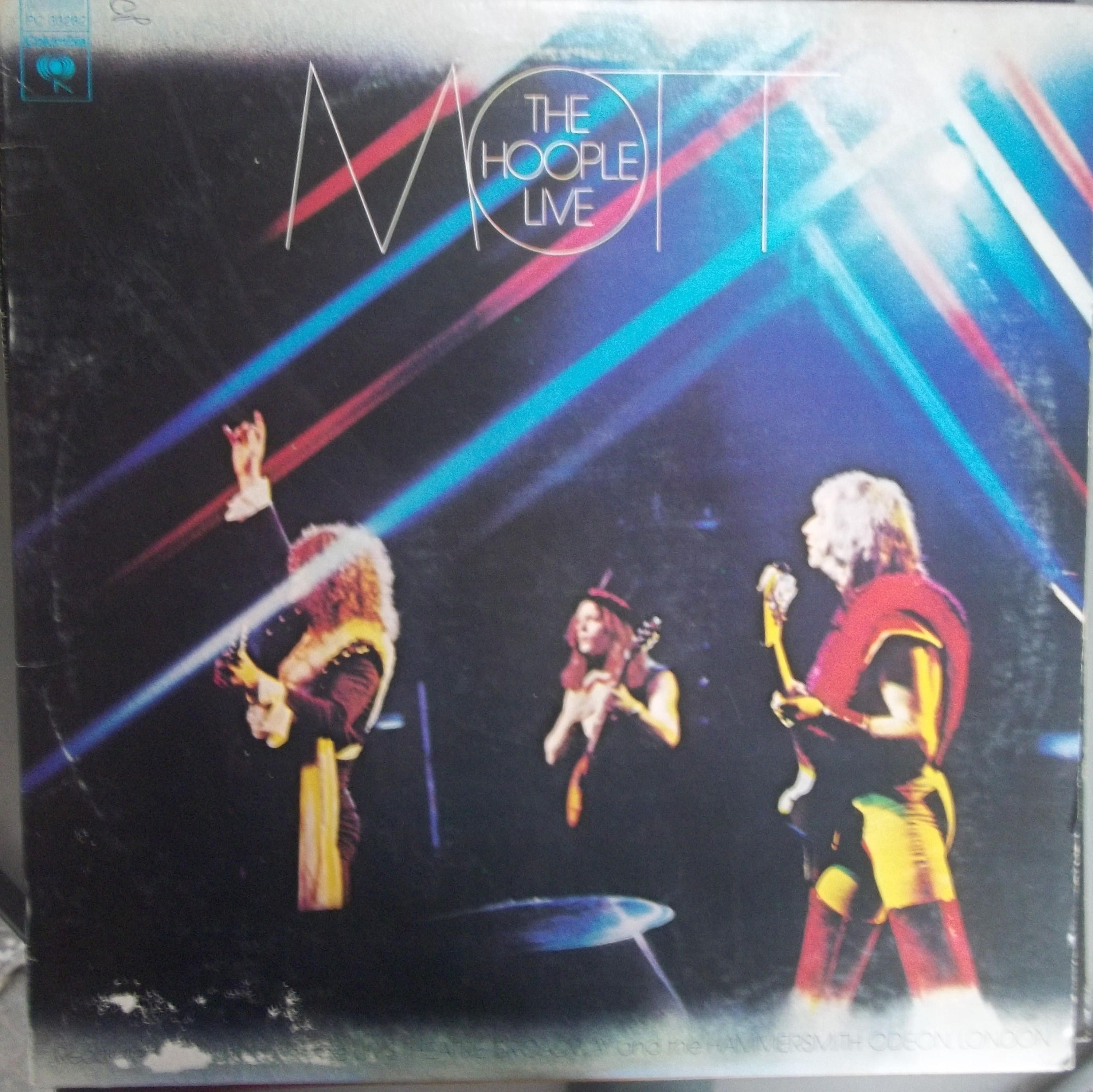 Mott The Hoople Live Vintage Record Album Vinyl Lp Classic Rock And Roll Music English Rock Band All The Young Dudes Live Concert Mott The Hoople Classic Album Covers Music Album