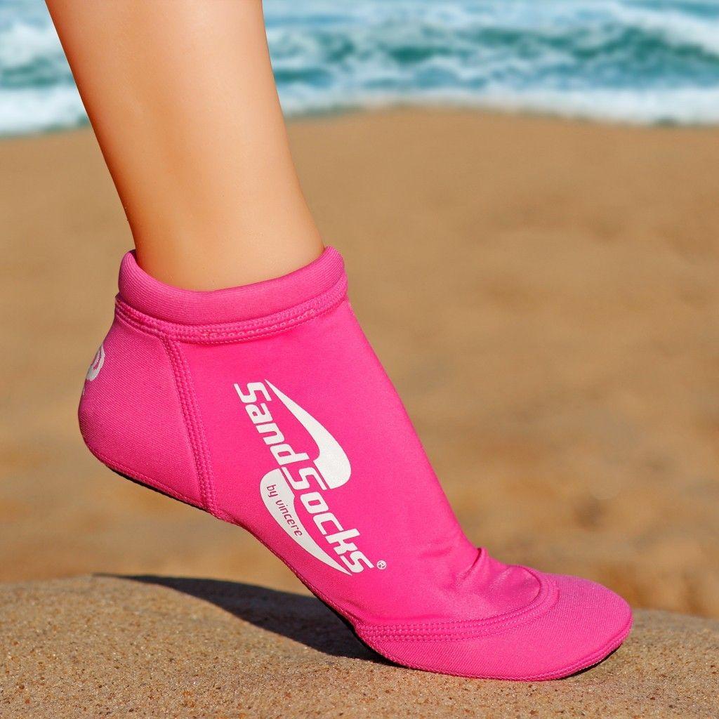 Pink Sprites Sand Socks Active Wear For Women Beach Socks Socks Women