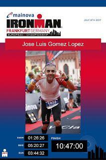@j2lg | Jose Luis Gomez: IronMan Frankfurt 2017
