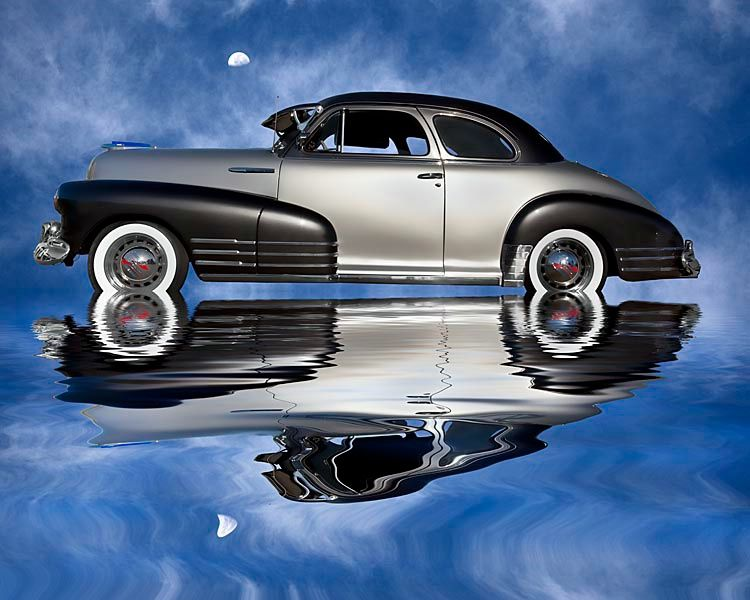 1948 Chevy Stylemaster Coupe | Old cars | Cadillac