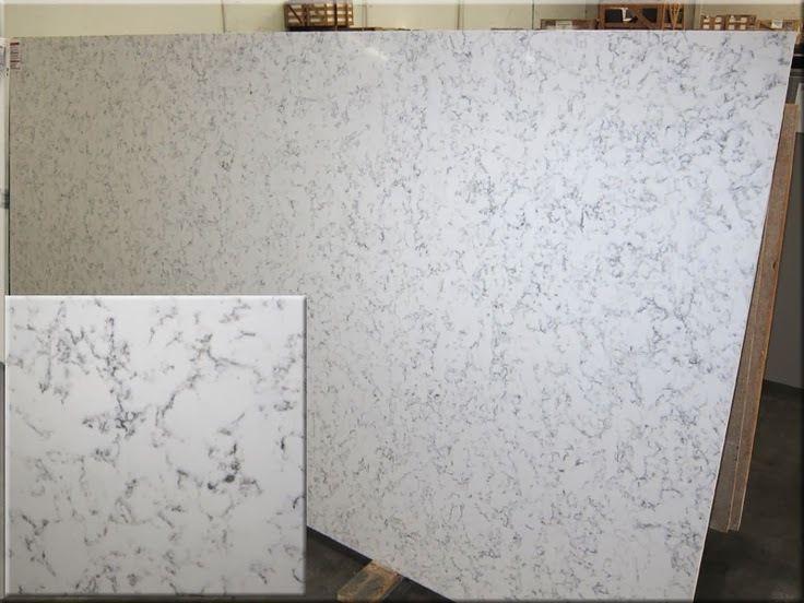 Example Credenza Top Slab Marble Quartz Countertop White Slab