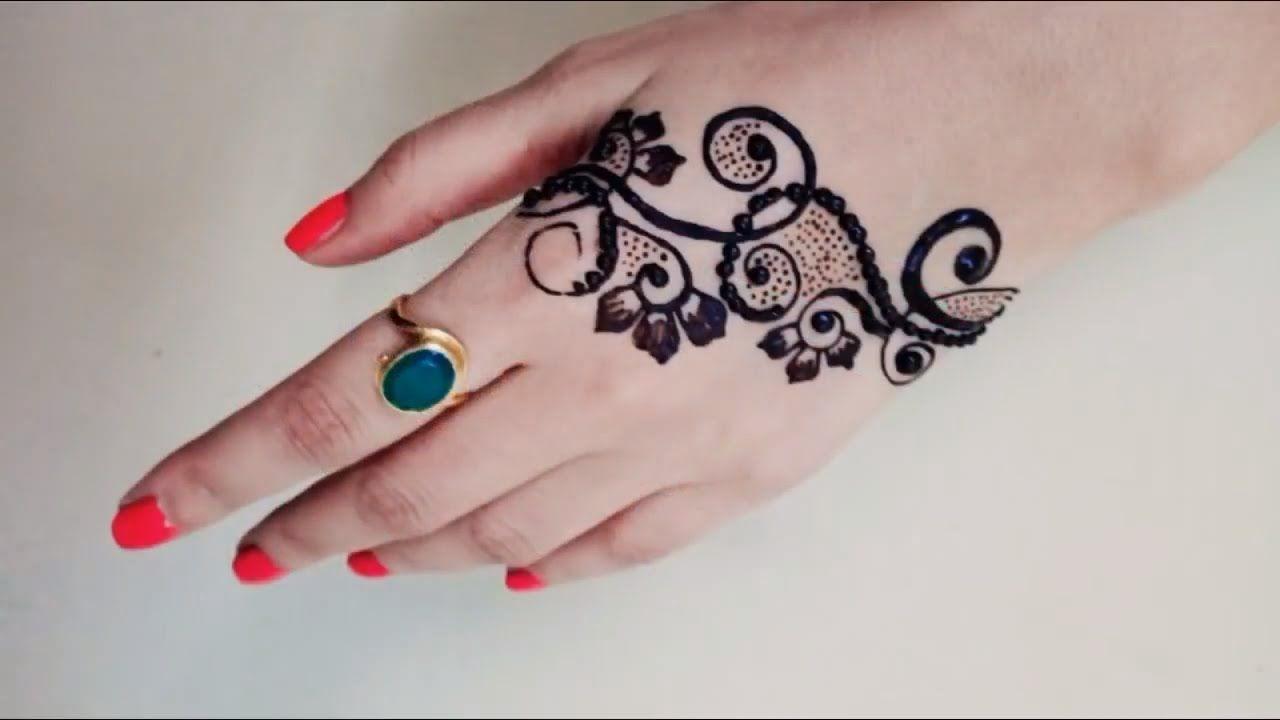 Simple Henna Designs For Hands Bracelet Henna Mehndi Design