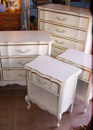 1960s French Provincial Bedroom Furniture, In The Style And Good Quality  Level Of Dixie Furniture