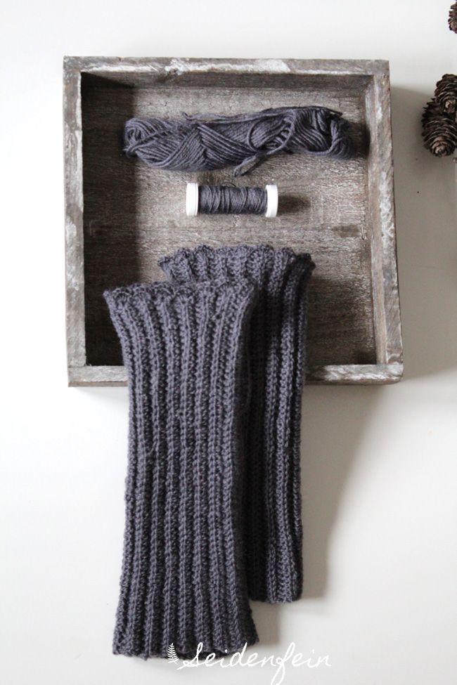 Stulpen Häkeln Lang Jawoll Anleitung Crochet Yarn Crocheting