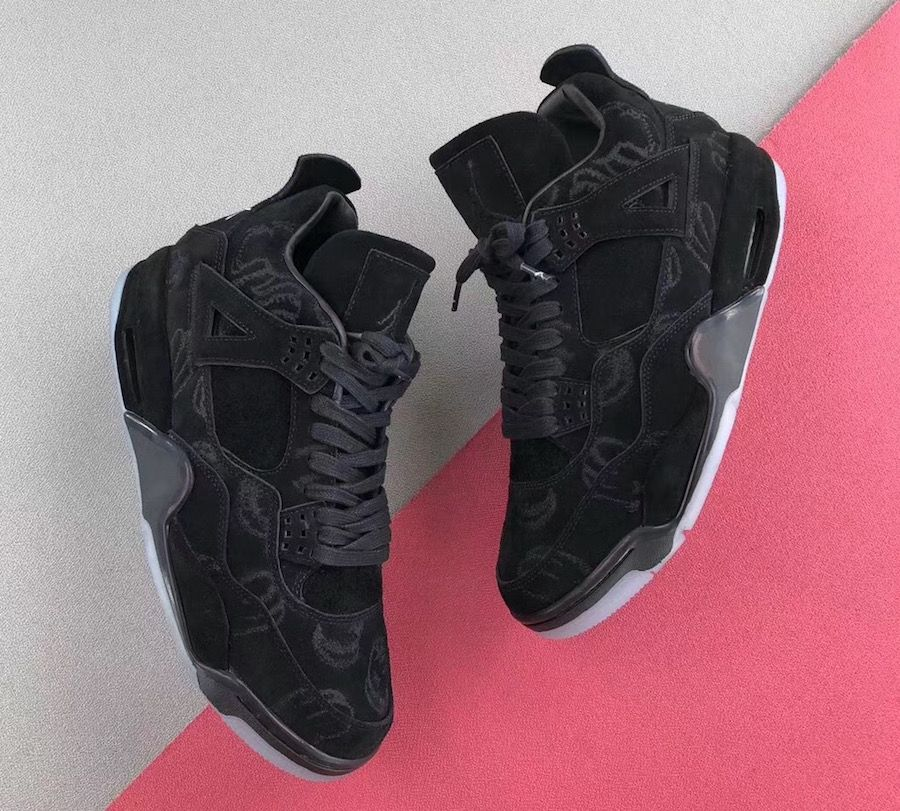 best sneakers 21ebd a871d There s A Good Chance The KAWS x Air Jordan 4 Black Debuts Next Year