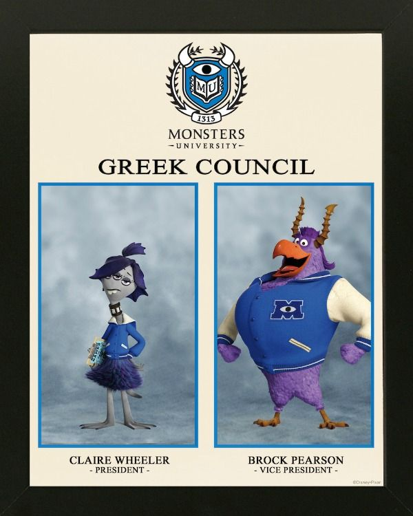 Monsters University Greek Council