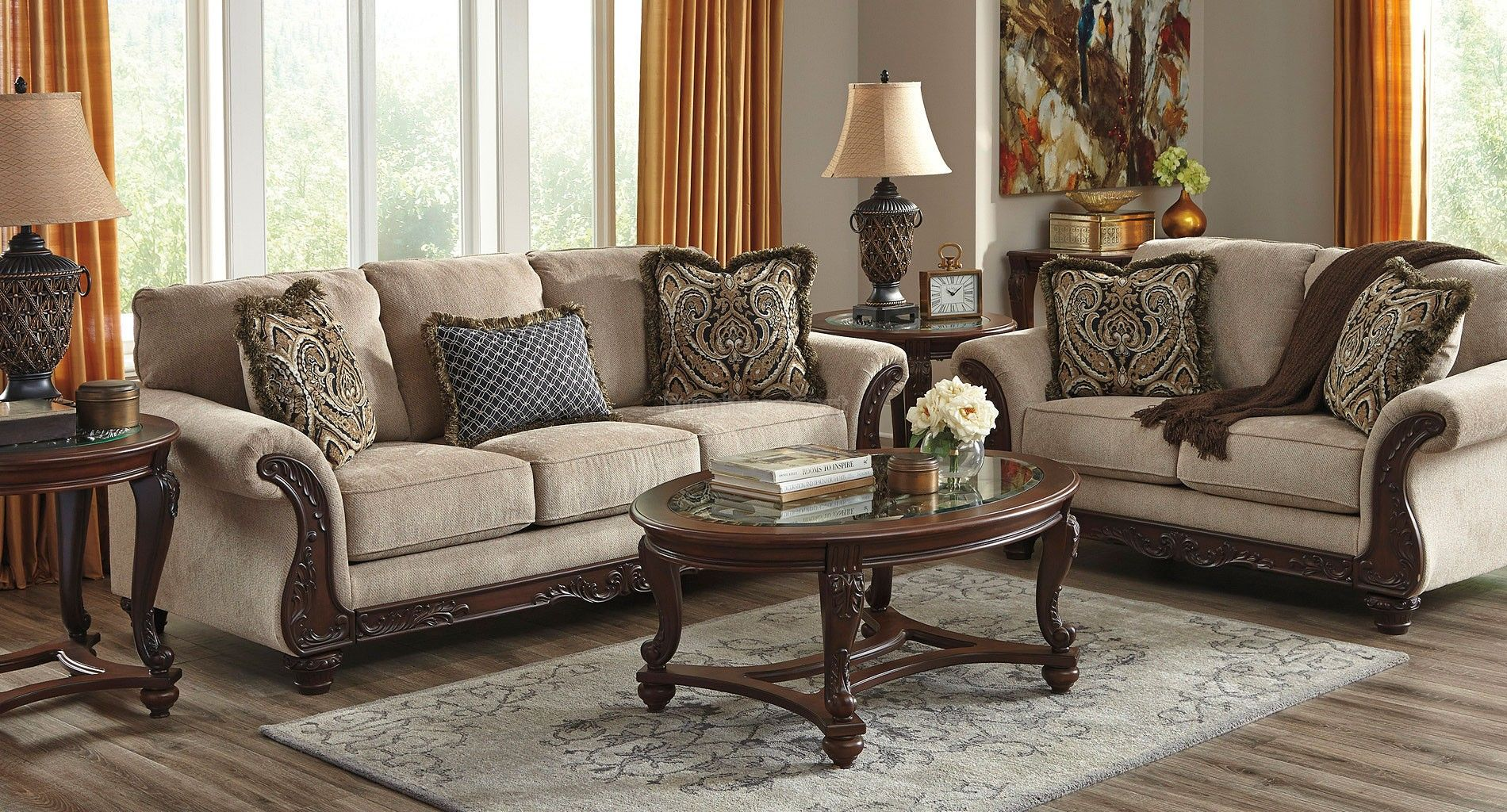 Best Laytonsville Pebble Living Room Set Living Room Sets 640 x 480