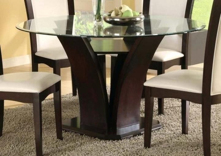 45 Ideas Cool Dining Table Modern Design In Your Kitchen Glass Dining Room Table Glass Round Dining Table Round Glass Kitchen Table