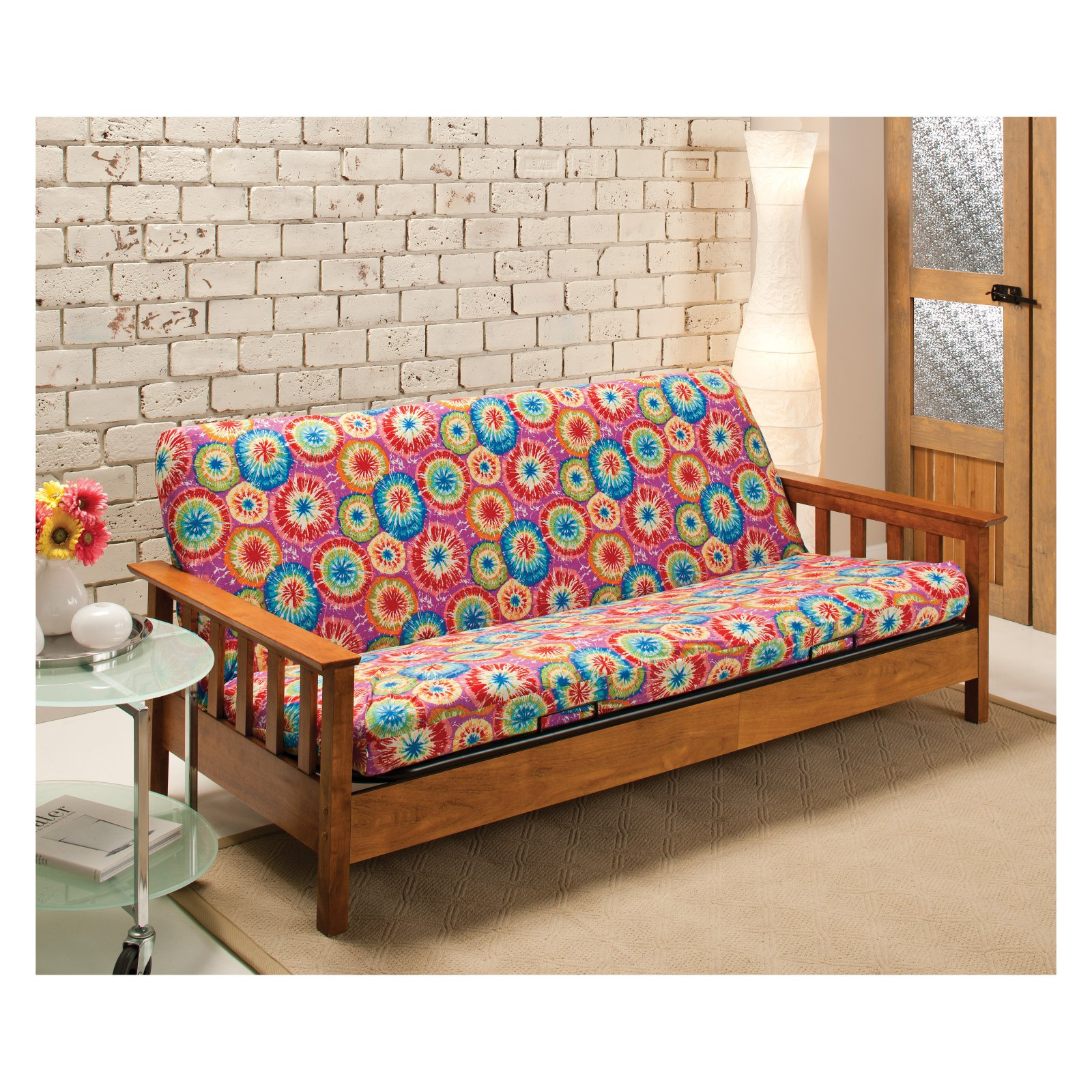 Madison Industries Tie Dye Jersey Full Futon Cover