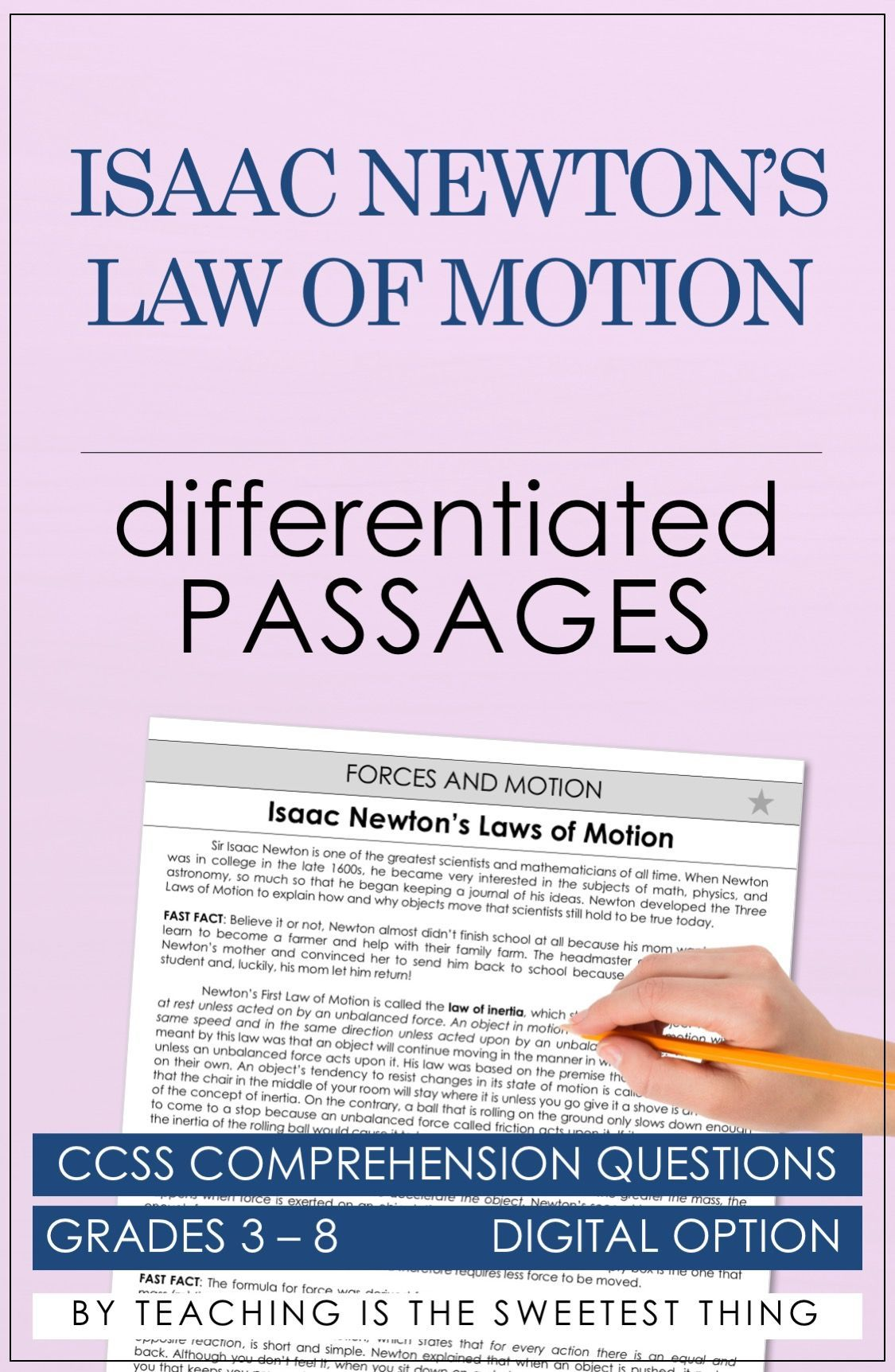 Forces And Motion Passages