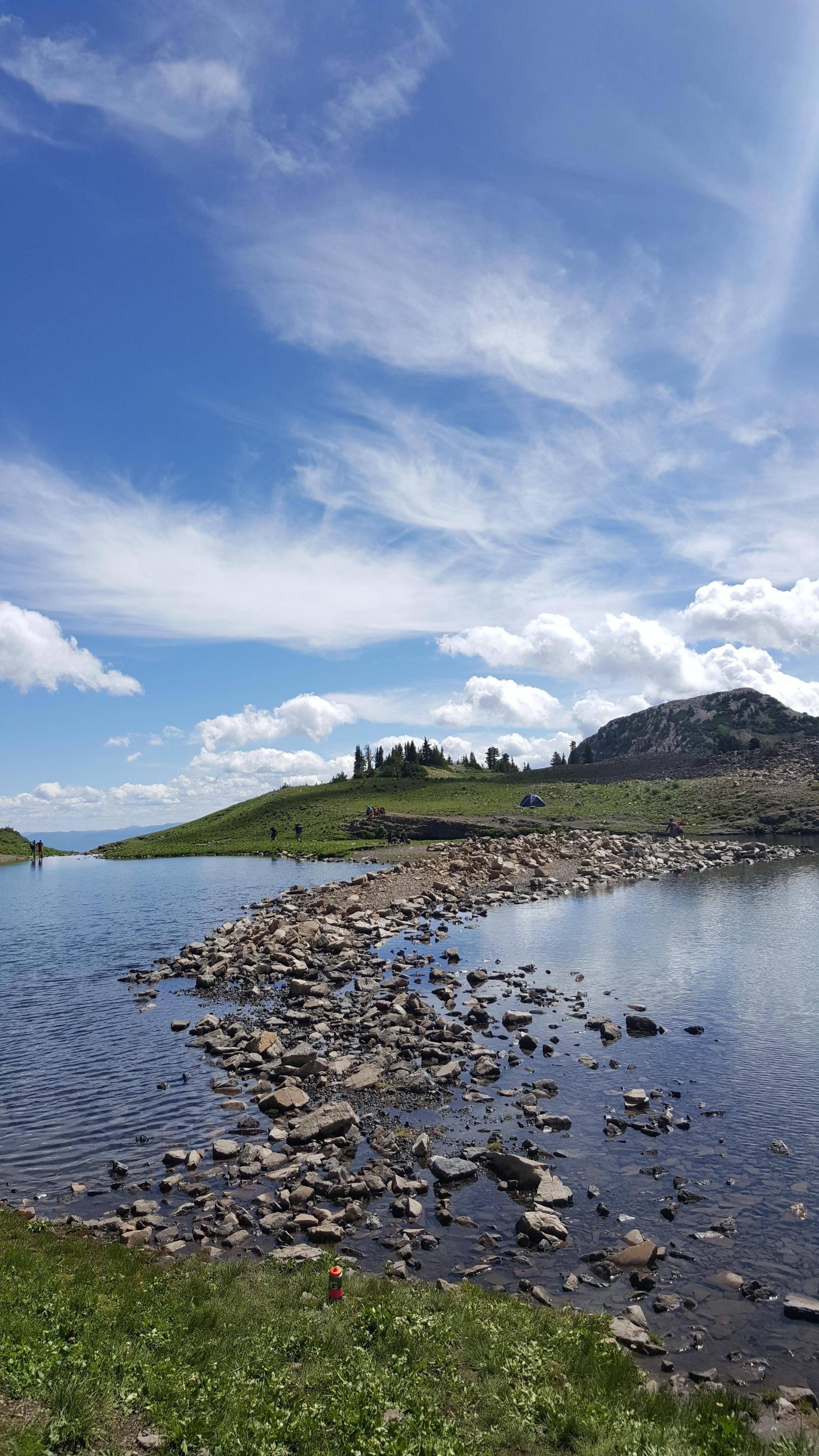 Mount Timpanogos: Emerald Lake Utah [OC] [53122988]