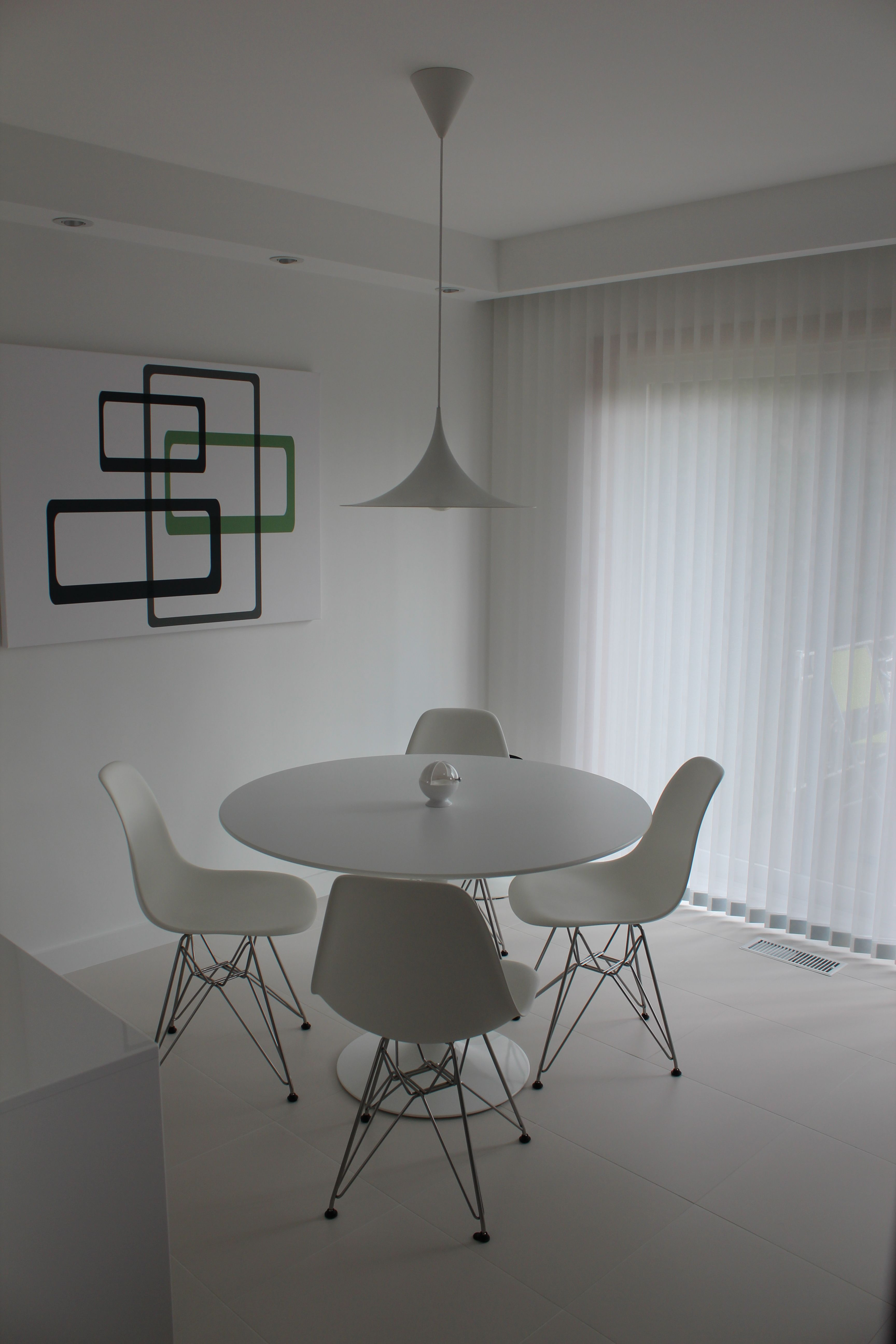 Herman Miller Eames DSR and Knoll 42